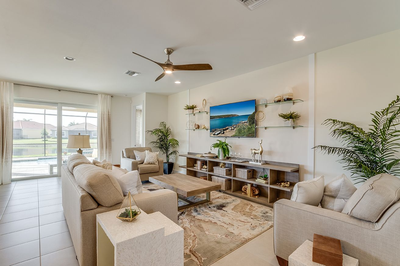 Living Area featured in the Delray By D.R. Horton in Fort Myers, FL