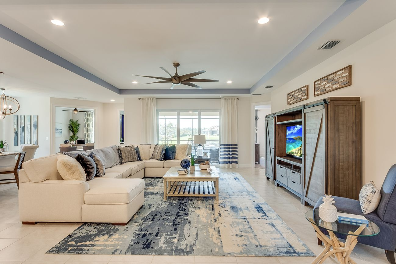 Living Area featured in the Destin By D.R. Horton in Fort Myers, FL