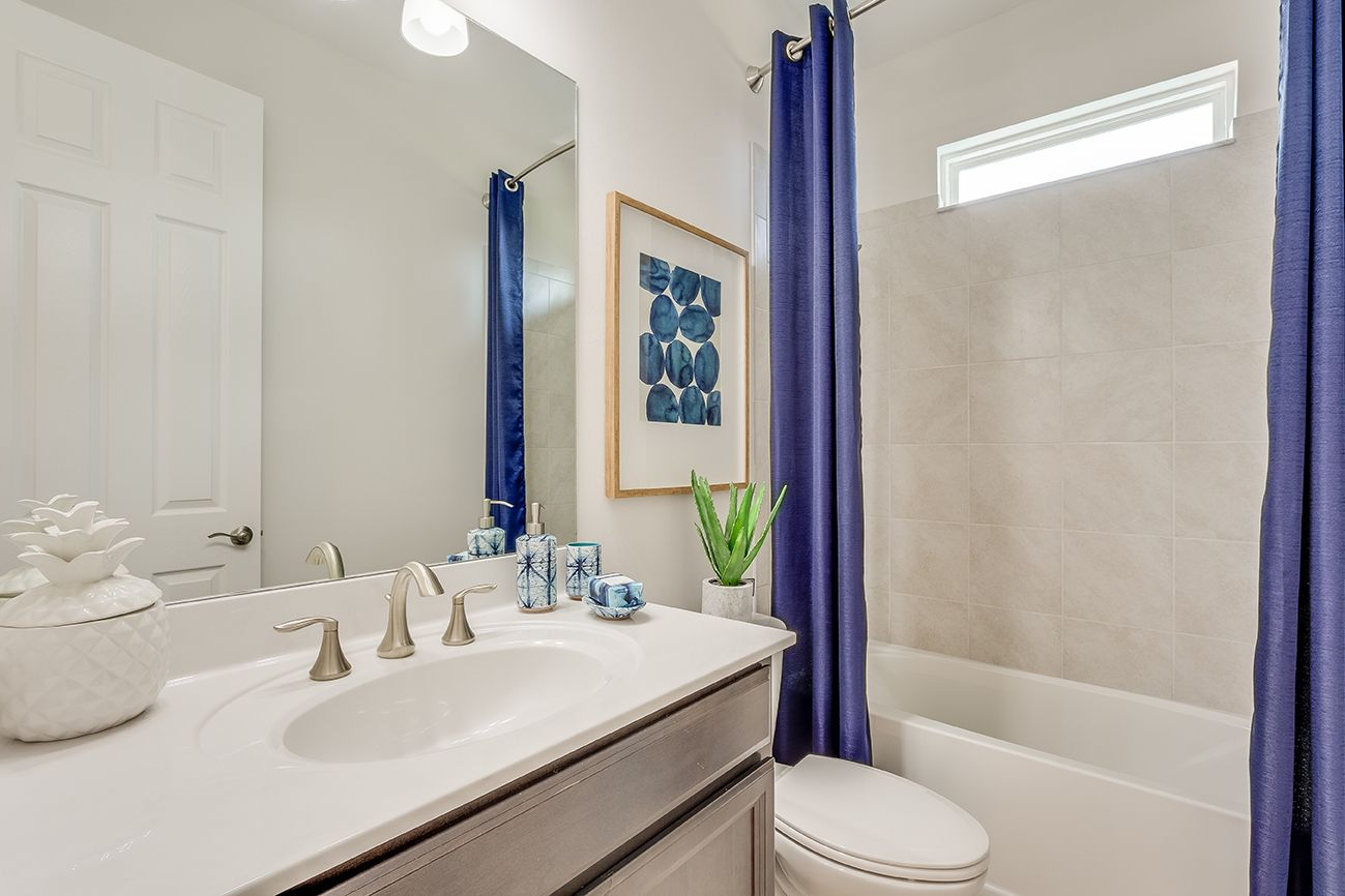 Bathroom featured in the Destin By D.R. Horton in Fort Myers, FL