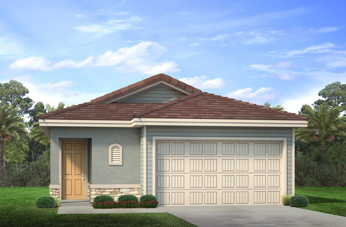 Exterior featured in the Willow By D.R. Horton in Fort Myers, FL