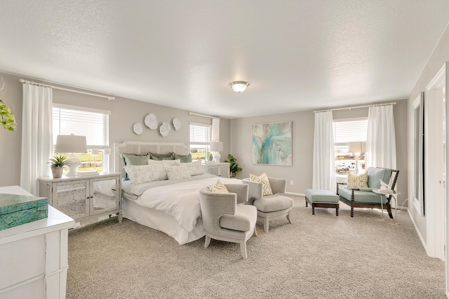 Bedroom featured in the HERRING By D.R. Horton in Greeley, CO