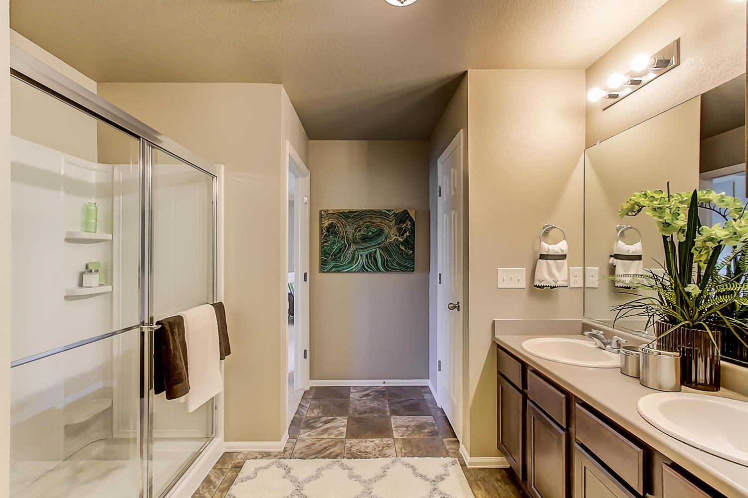 Bathroom featured in the HAYDEN By D.R. Horton in Denver, CO