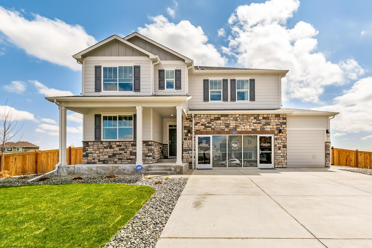 Exterior featured in the HERRING By D.R. Horton in Boulder-Longmont, CO