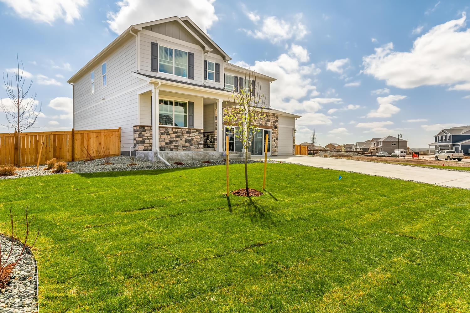 Exterior featured in the HAVEN By D.R. Horton in Greeley, CO