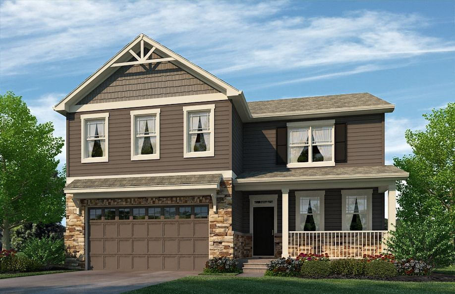 Exterior featured in the HOLLY By D.R. Horton in Greeley, CO