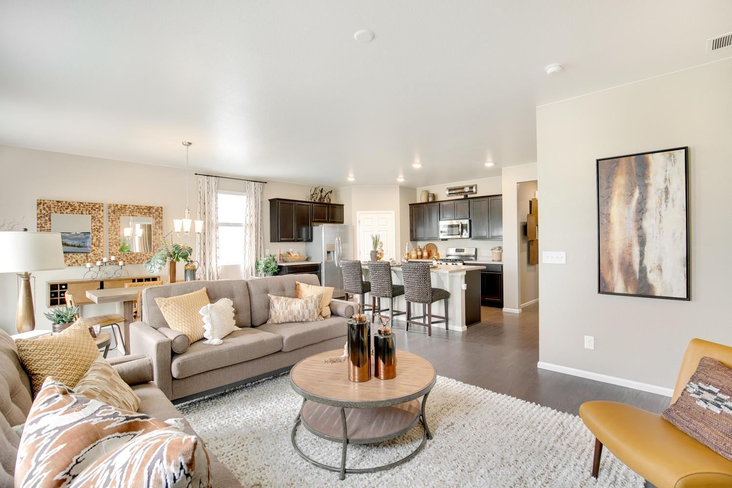 Living Area featured in the NEUVILLE By D.R. Horton in Fort Collins-Loveland, CO