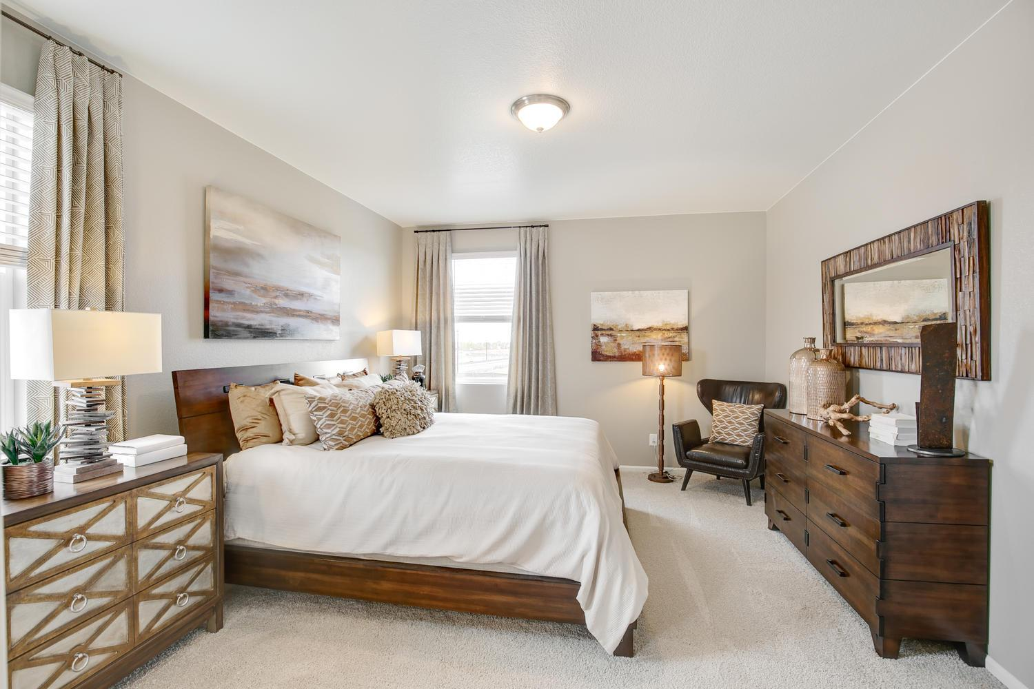 Bedroom featured in the NEUVILLE By D.R. Horton in Fort Collins-Loveland, CO