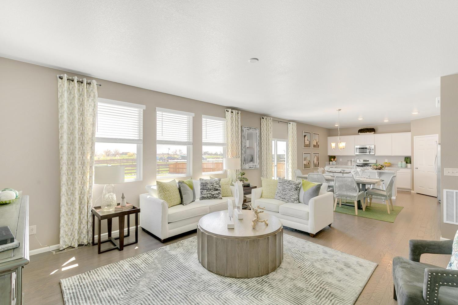 Living Area featured in the HERRING By D.R. Horton in Fort Collins-Loveland, CO