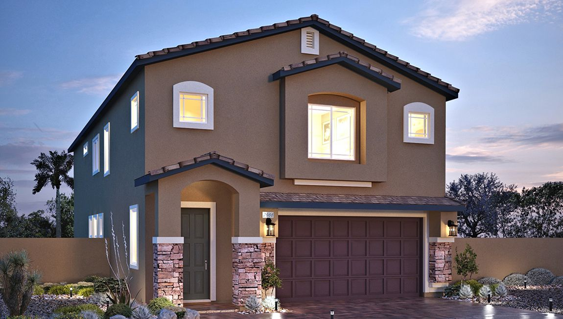 Exterior featured in the 2988 Plan By D.R. Horton in Las Vegas, NV