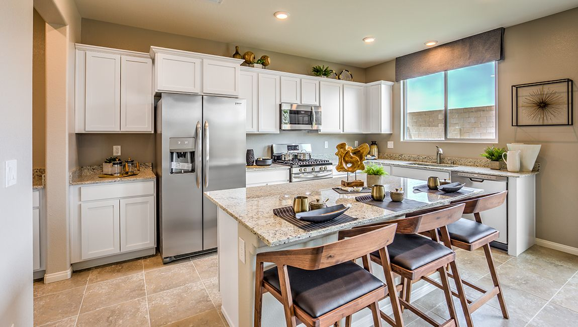 Kitchen featured in the 2988 Plan By D.R. Horton in Las Vegas, NV