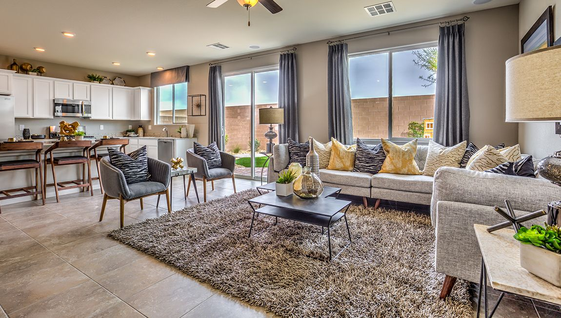 Living Area featured in the 2988 Plan By D.R. Horton in Las Vegas, NV