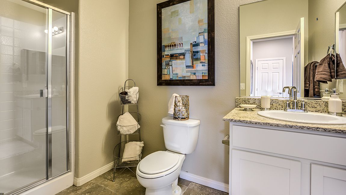 Bathroom featured in the 2988 Plan By D.R. Horton in Las Vegas, NV