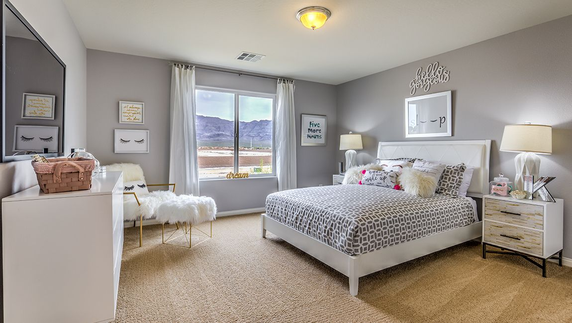 Bedroom featured in the 2988 Plan By D.R. Horton in Las Vegas, NV