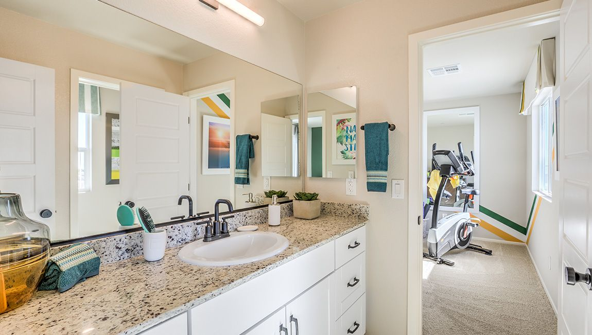 Bathroom featured in the 2114 Plan By D.R. Horton in Las Vegas, NV