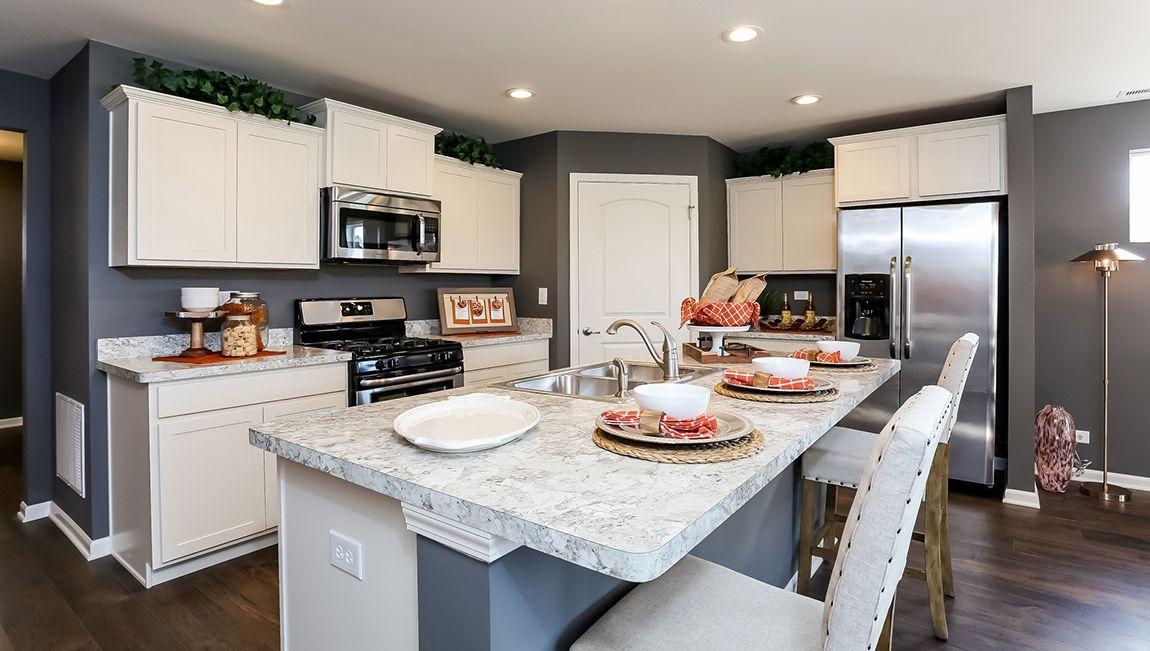 Kitchen featured in the Arlington By D.R. Horton in Philadelphia, NJ