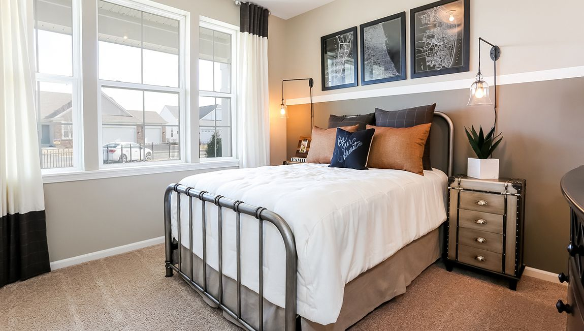 Bedroom featured in the Clifton By D.R. Horton in Philadelphia, NJ