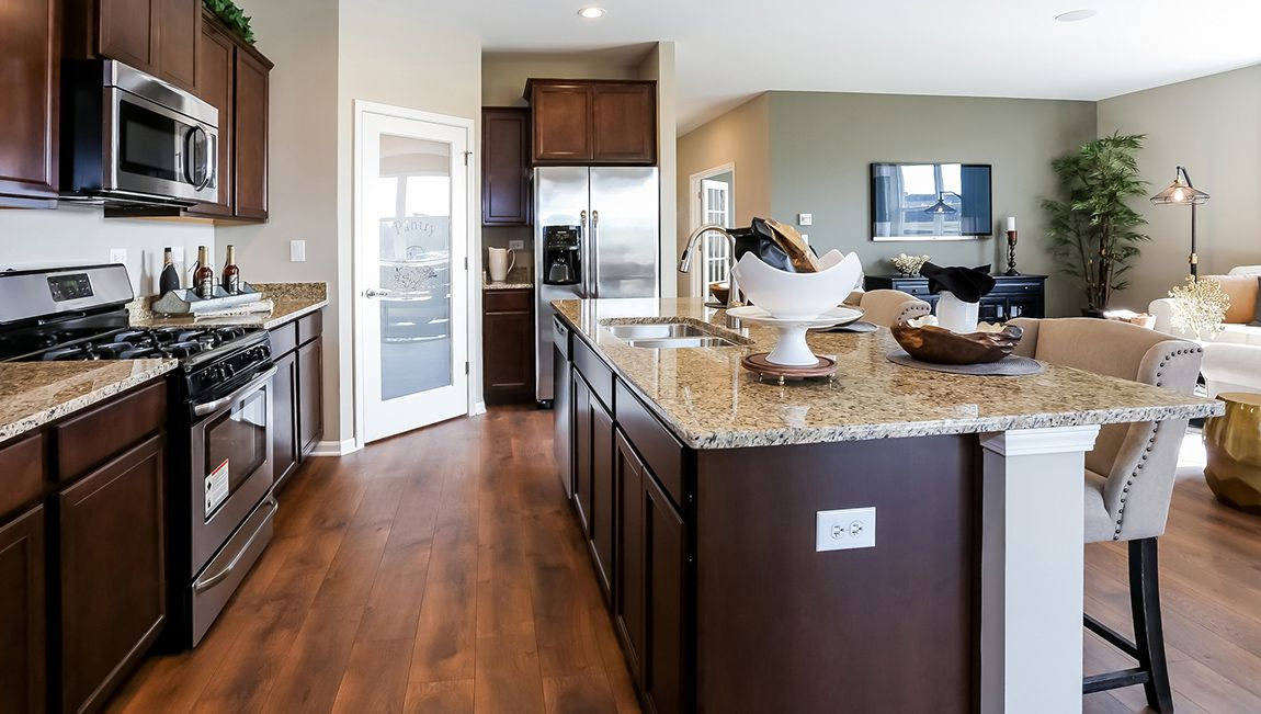 Kitchen featured in the Clifton By D.R. Horton in Philadelphia, NJ