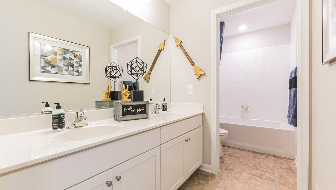Bathroom featured in the Hadley By D.R. Horton in Philadelphia, PA