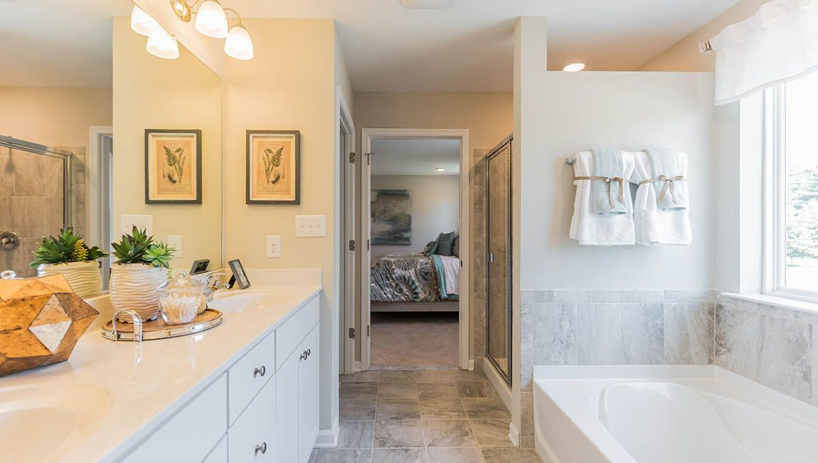 Bathroom featured in the Winston By D.R. Horton in Philadelphia, PA