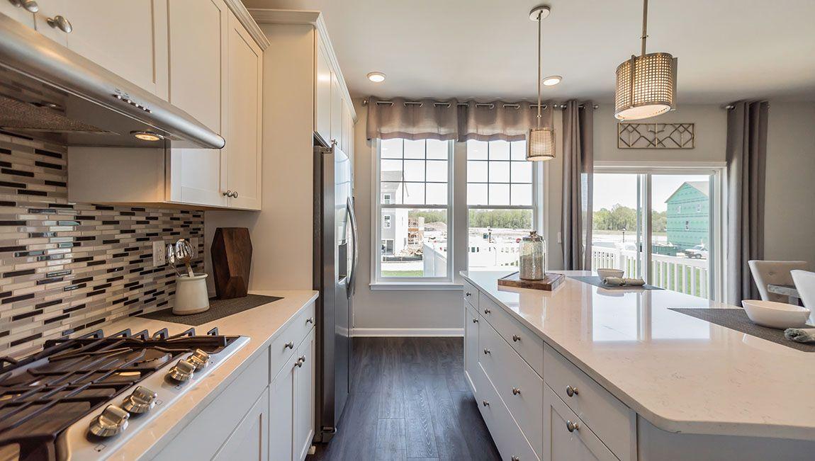 Kitchen featured in the Auburn By D.R. Horton in Philadelphia, NJ