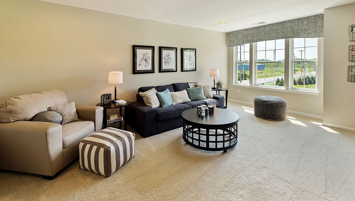Living Area featured in the Summit By D.R. Horton in Ocean County, NJ