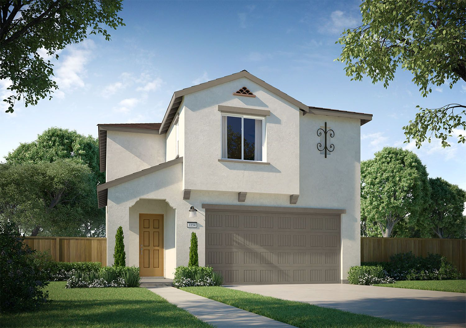 Exterior featured in the Kaweah By D.R. Horton in Merced, CA