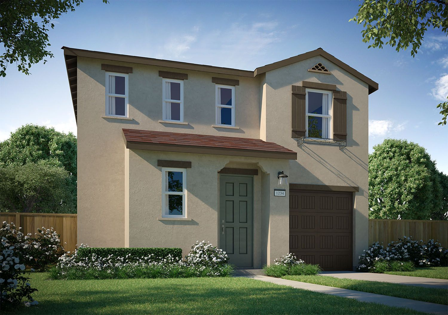 Exterior featured in the Tenaya By D.R. Horton in Merced, CA