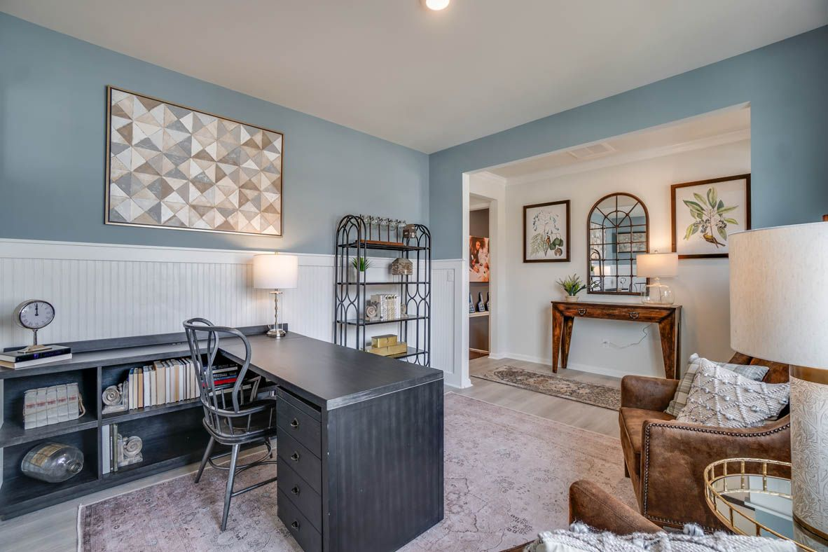 Living Area featured in the Hayden By D.R. Horton in Richmond-Petersburg, VA