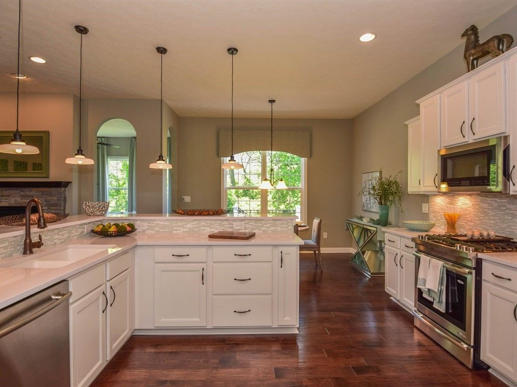 Kitchen featured in the Sydney By D.R. Horton in Indianapolis, IN