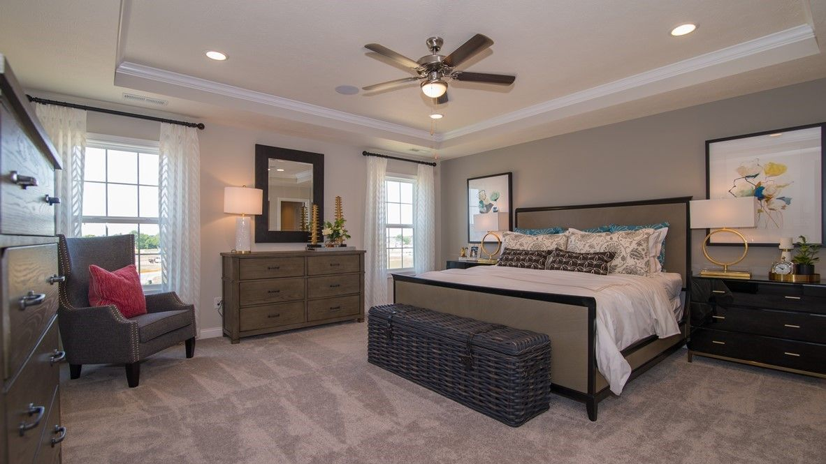 Bedroom featured in the Denali By D.R. Horton in Indianapolis, IN