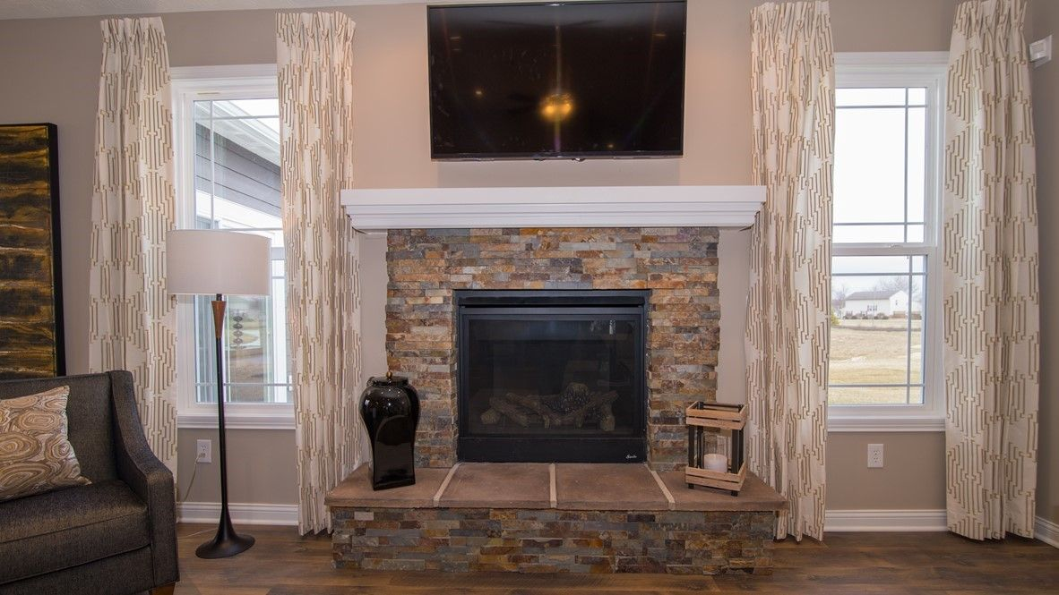 Living Area featured in the Sycamore By D.R. Horton in Indianapolis, IN