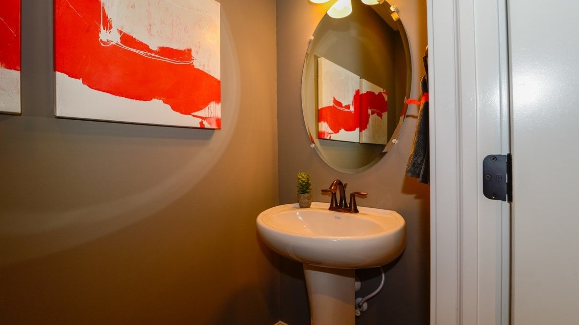 Bathroom featured in the Grandover By D.R. Horton in Indianapolis, IN
