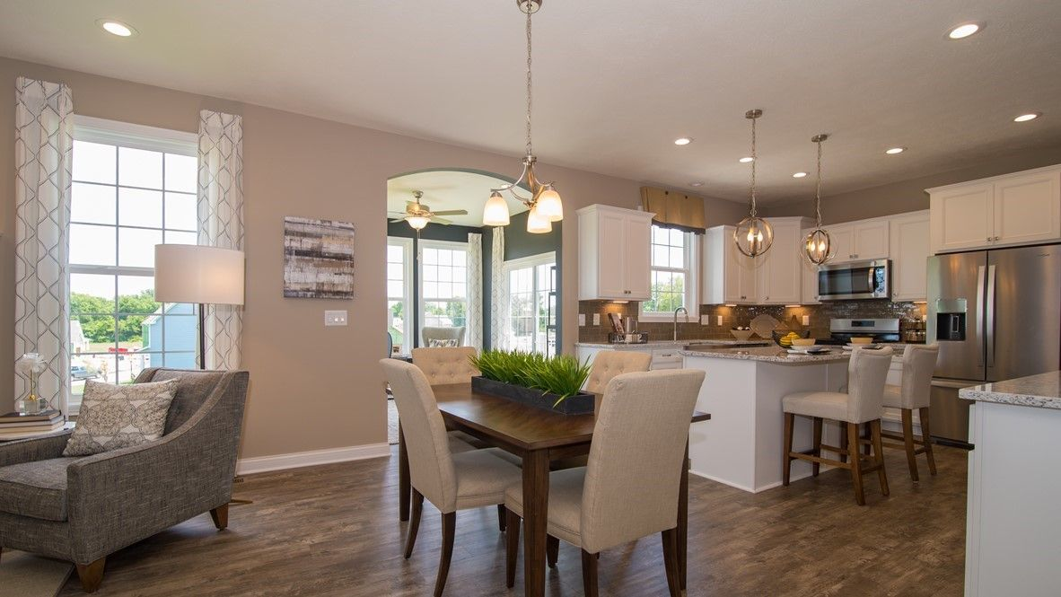 Kitchen featured in the Campton By D.R. Horton in Indianapolis, IN