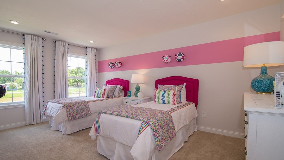 Bedroom featured in the Campton By D.R. Horton in Indianapolis, IN