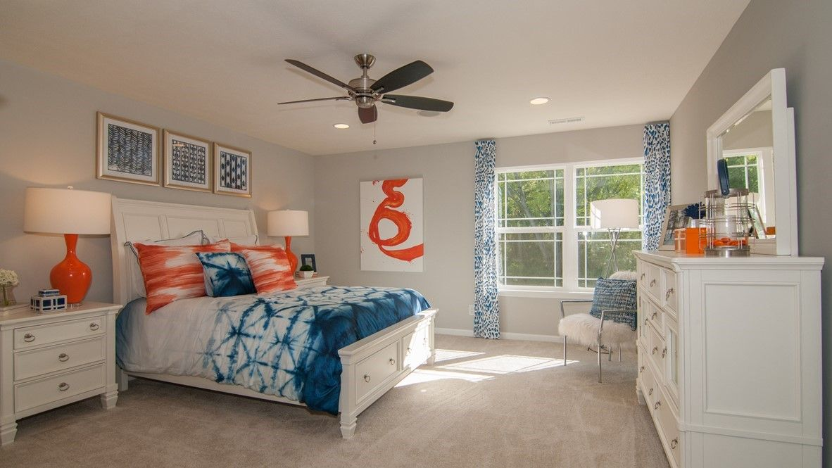 Bedroom featured in the Bristol By D.R. Horton in Indianapolis, IN