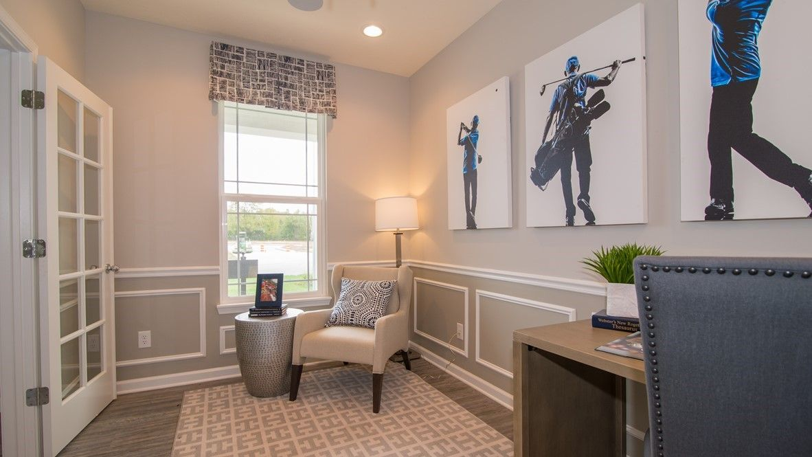 Living Area featured in the McKinley By D.R. Horton in Indianapolis, IN