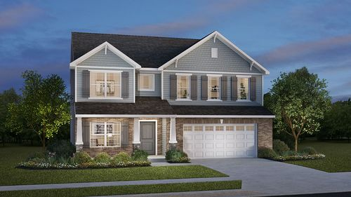 Village at New Bethel by D.R. Horton in Indianapolis Indiana
