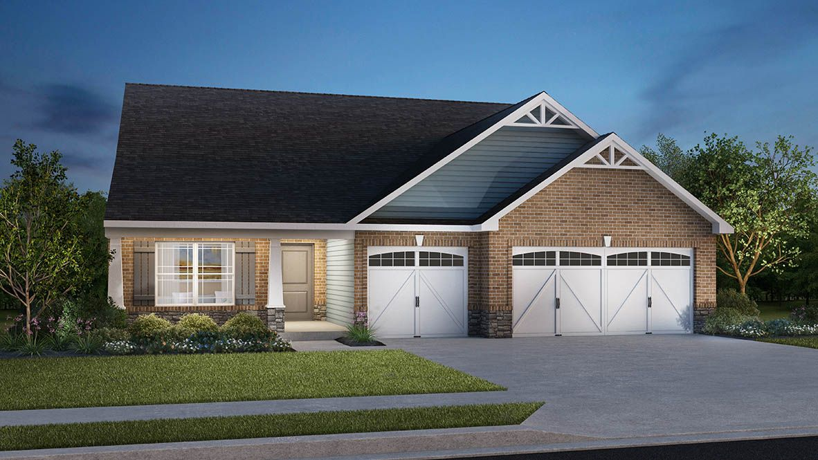Exterior featured in the Grandover By D.R. Horton in Indianapolis, IN