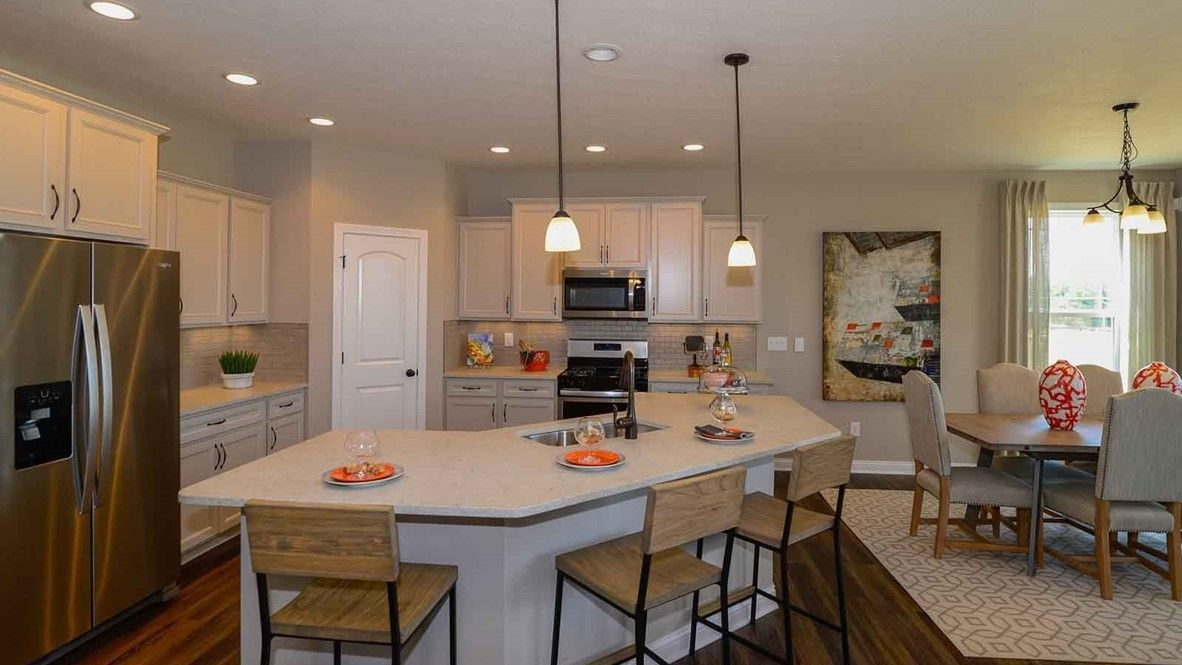 Kitchen featured in the Grandover By D.R. Horton in Indianapolis, IN