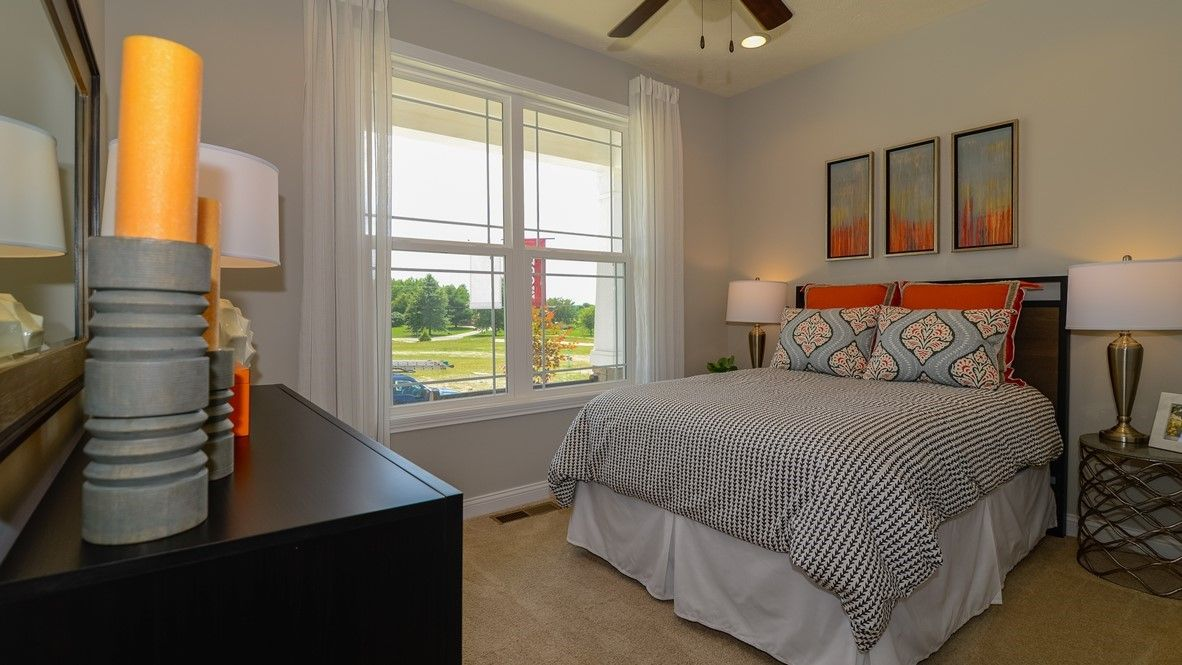 Bedroom featured in the Grandover By D.R. Horton in Indianapolis, IN
