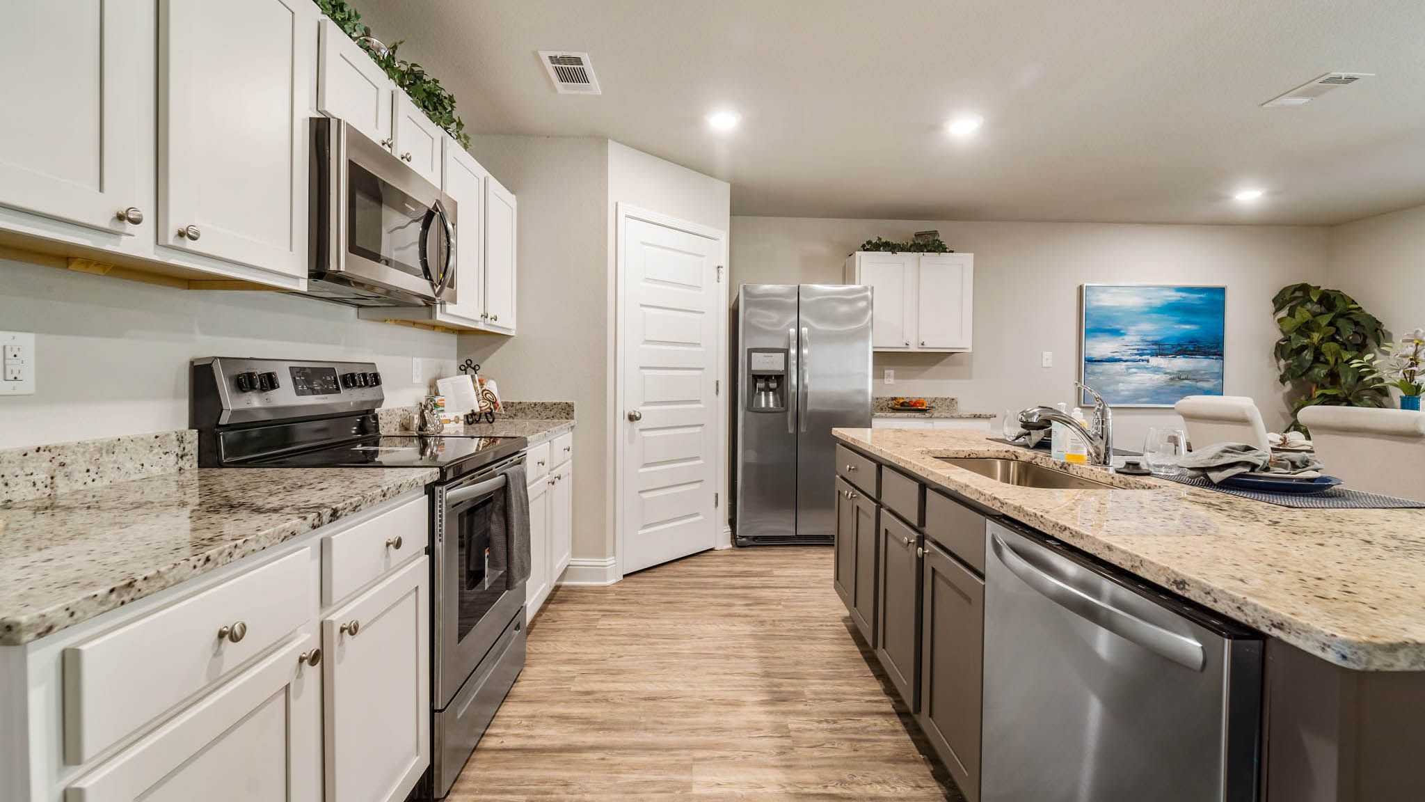 Kitchen featured in The Cali By D.R. Horton in Biloxi, MS