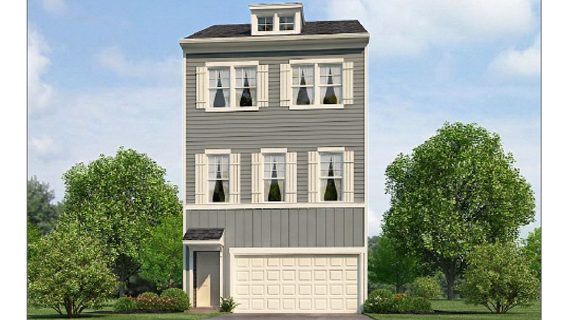 Exterior featured in the AUBURN By D.R. Horton in Baltimore, MD