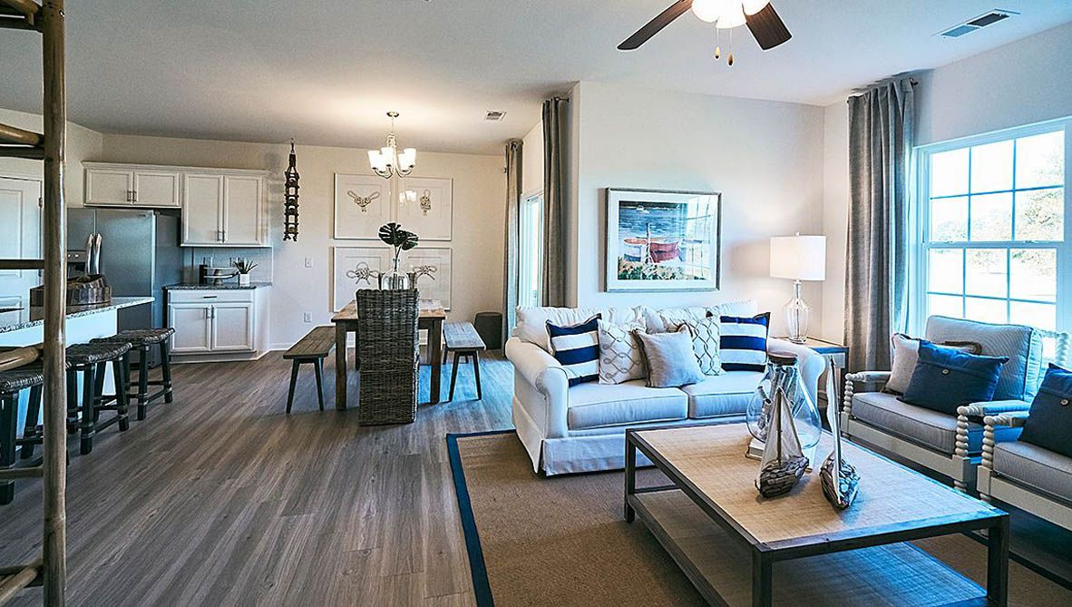 Living Area featured in the Cali By D.R. Horton in Jacksonville, NC