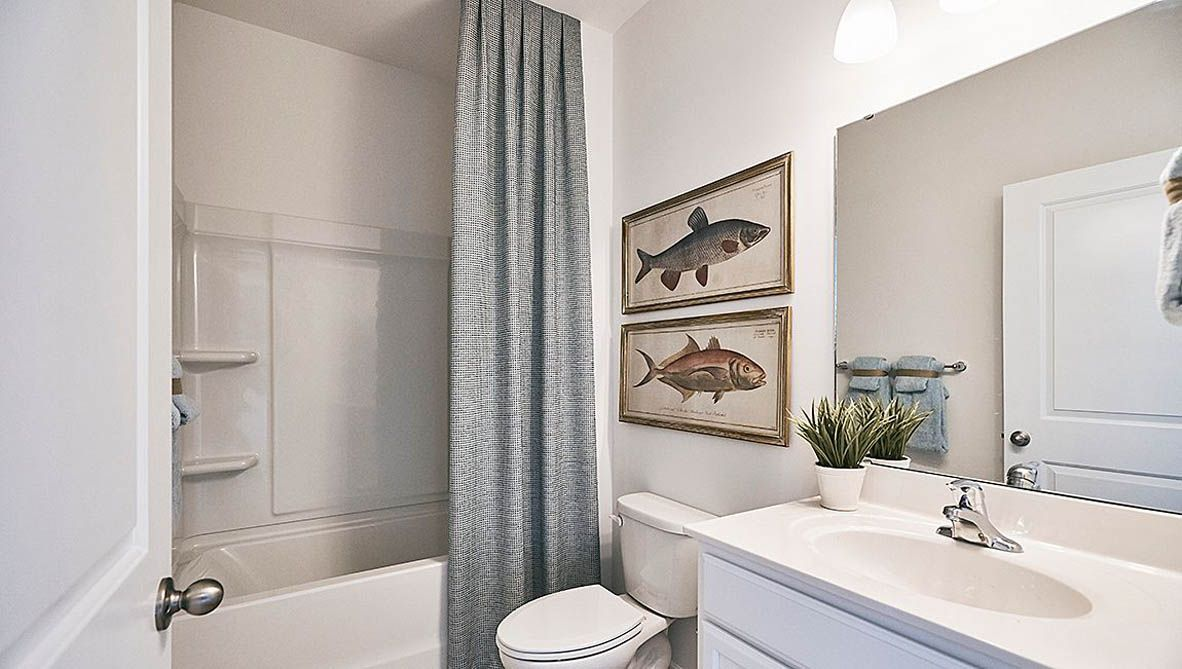 Bathroom featured in the Cali By D.R. Horton in Jacksonville, NC