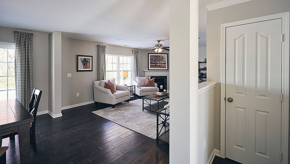Living Area featured in the Pinehurst By D.R. Horton in Jacksonville, NC