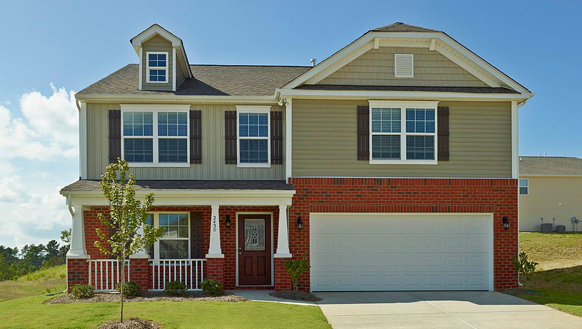 Exterior featured in the Wilmington By D.R. Horton in Jacksonville, NC