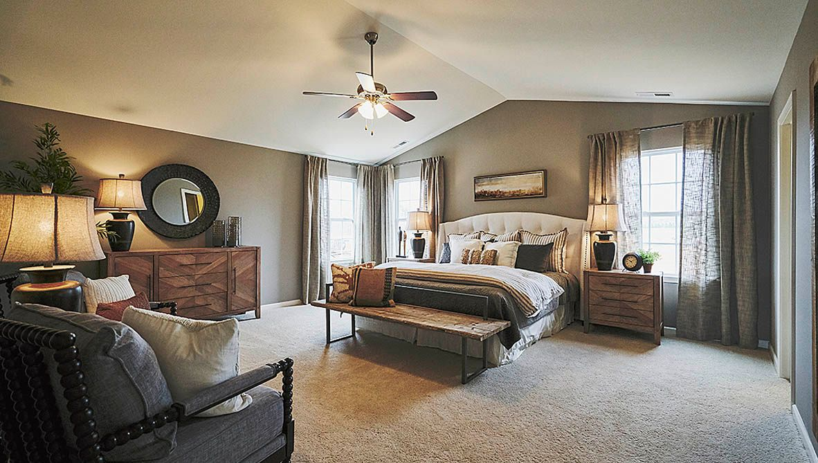 Bedroom featured in the Wilmington By D.R. Horton in Jacksonville, NC
