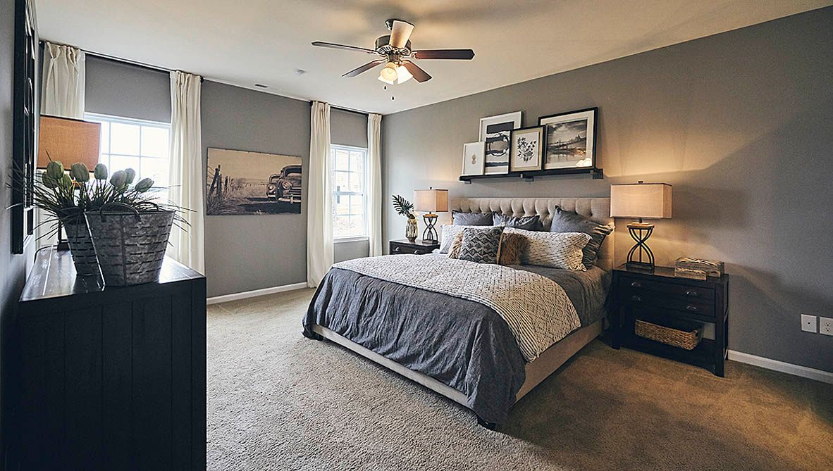 Bedroom featured in the Winston By D.R. Horton in Jacksonville, NC