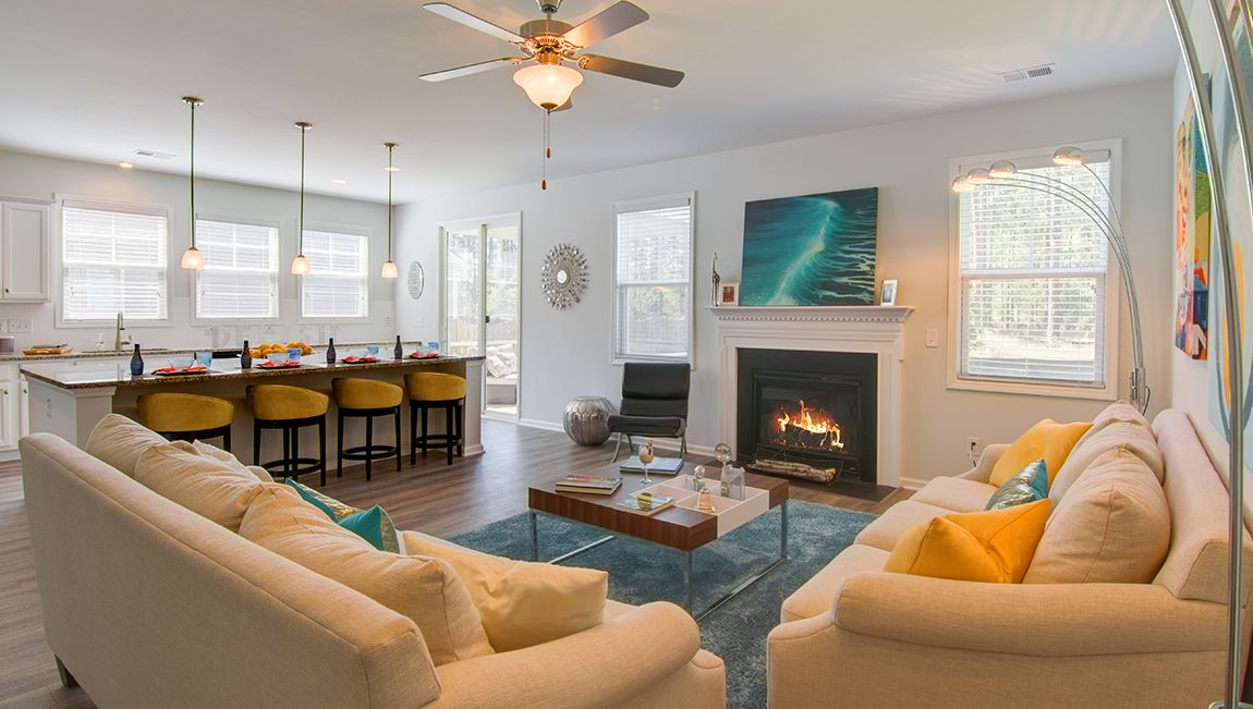Living Area featured in the Forrester By D.R. Horton in Charleston, SC