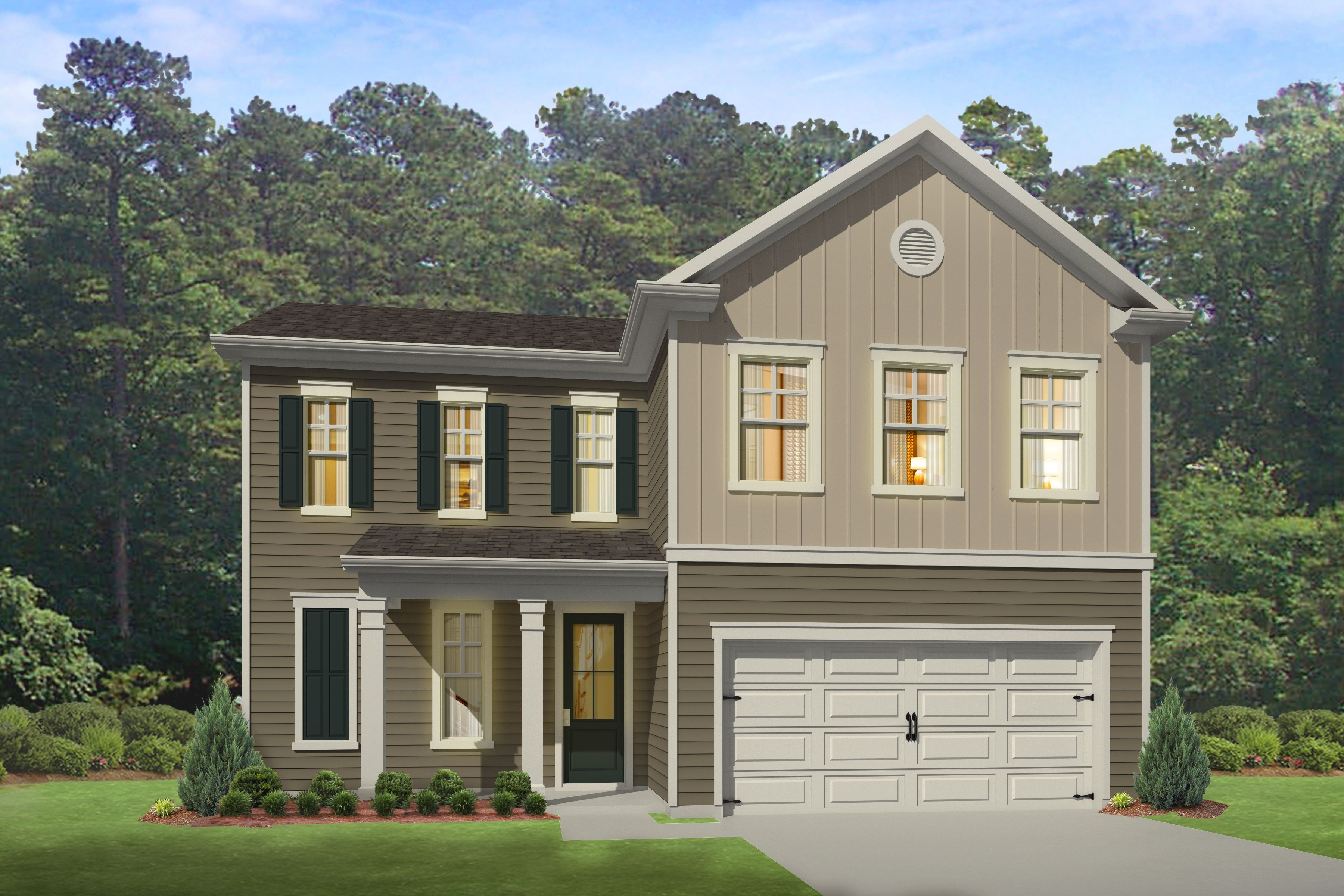 Exterior featured in the BELFORT By D.R. Horton in Myrtle Beach, SC